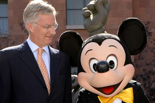 Le-prince-Philippe-et-Mickey-