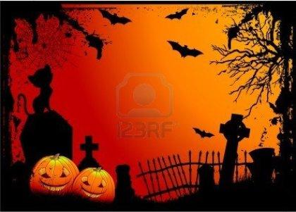 5568155-grunge-halloween-cimetiere-de-fond